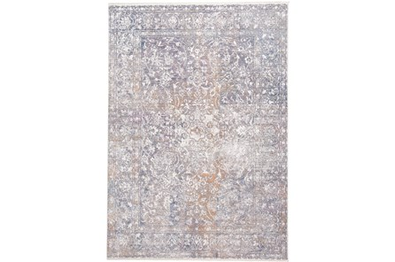 48X72 Rug-Floral Damask Sunset - Main