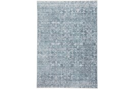 48X72 Rug-Faded Transitional Blue/Turquoise
