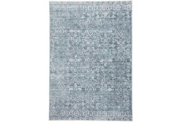 4'x6' Rug-Faded Transitional Blue/Turquoise