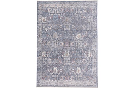 60X96 Rug-Faded Traditional Moonlight