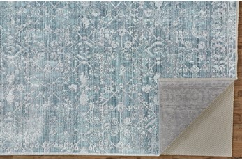 5'x8' Rug-Faded Transitional Blue/Turquoise