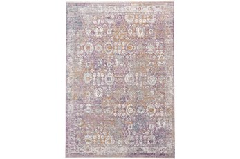 94X120 Rug-Faded Traditional Sorbet