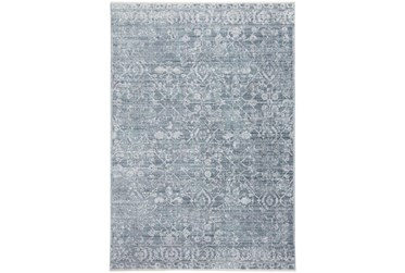 10'x14' Rug-Faded Transitional Blue/Turquoise
