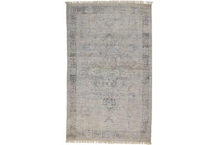 60X90 Rug-Faded Traditional Slate