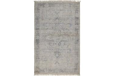 "5'x7'5"" Rug-Faded Traditional Slate"