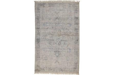 120X168 Rug-Faded Traditional Slate