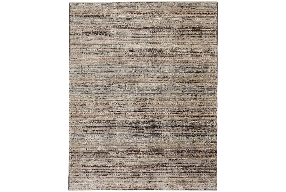 30X96 Rug-Antiqued Linear Taupe