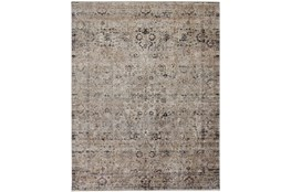 """2'5""""x10' Rug-Antiqued Traditional Taupe"""