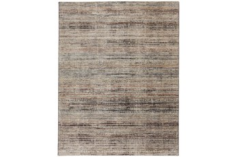 "2'5""x12' Rug-Antiqued Linear Taupe"