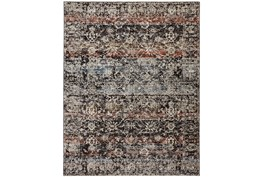 """7'8""""x10' Rug-Floral Repeat Blue Rust"""