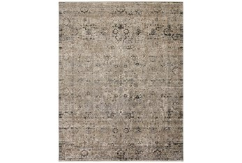 """9'5""""x12'4"""" Rug-Antiqued Traditional Taupe"""