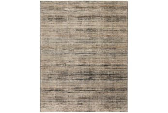 """9'5""""x12'4"""" Rug-Antiqued Linear Taupe"""