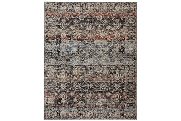 """6'6""""x9'5"""" Rug-Floral Repeat Blue Rust"""