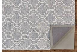8'x10' Rug-Quatrefoil Grey/Ivory