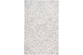 8'x10' Rug-Symmetrical Detail Ivory/Charcoal