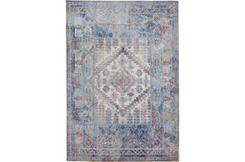 8'x10' Rug-Tamarack Multi Colored Charcoal Highlights