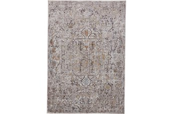 79X114 Rug-Tamarack Charcoal Highlights Grey