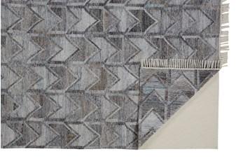 8'x10' Rug-Tomlin Chevron Grey