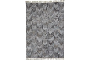 8'x10' Rug-Tomlin Chevron Grey