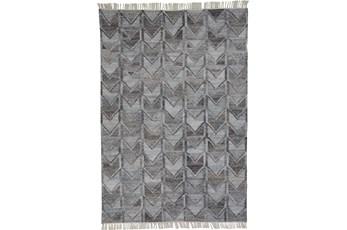 108X144 Rug-Tomlin Chevron Grey