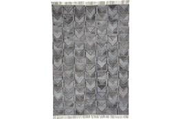 114X162 Rug-Tomlin Chevron Grey