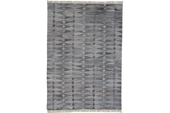 96X120 Rug-Tomlin Diamonds Grey