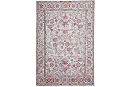 79X114 Rug-Tamarack Highlights Pink/Ivory/Charcoal