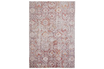 96X120 Rug-Tamarack Highlights Pink/Grey/Charcoal
