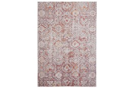 79X114 Rug-Tamarack Highlights Pink/Grey/Charcoal