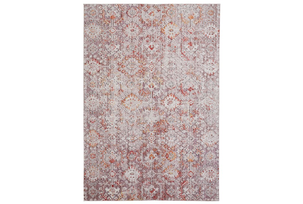 113X149 Rug-Tamarack Highlights Pink/Grey/Charcoal