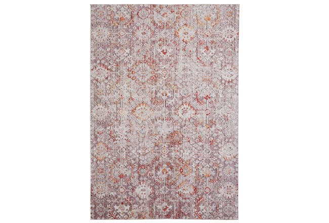 113X149 Rug-Tamarack Highlights Pink/Grey/Charcoal - 360