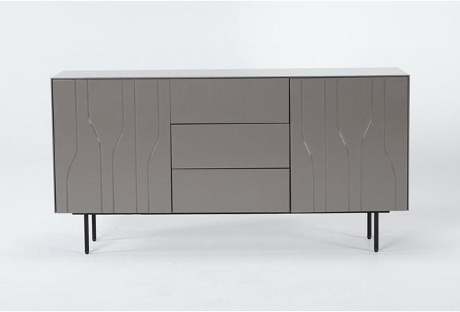 Jolie Grey 60 Inch TV Stand - 360