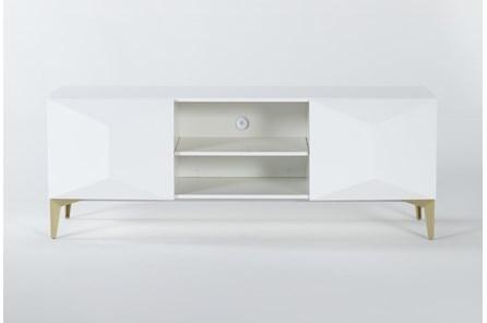 Aria White 60 Inch Tv Stand - Main