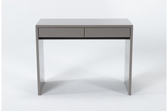"Jolie Grey 40"" Desk"