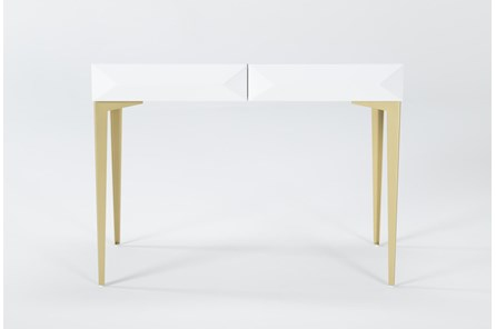 Aria White Desk - Main