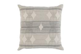 Accent Pillow-Grey Circles 22X22