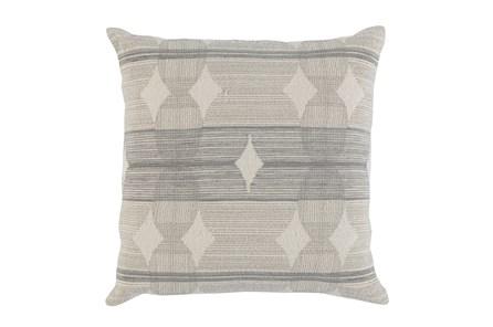 Accent Pillow-Grey Circles 22X22 - Main