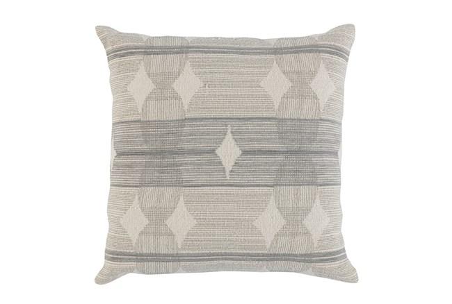 Accent Pillow-Grey Circles 22X22 - 360