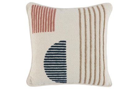 Accent Pillow- Clay Multi Modern Shapes 18X18 - Main
