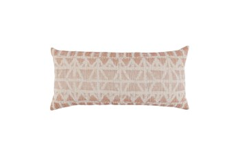 Accent Pillow-Clay/Ivory 16X36