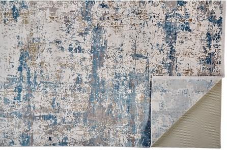 117X158 Rug-Cameron Blue/Ivory