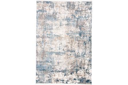 58X94 Rug-Cameron Blue/Ivory