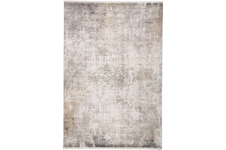 117X158 Rug-Cameron Light Grey/Ivory