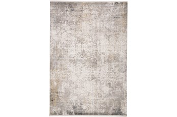 93X132 Rug-Cameron Light Grey/Ivory