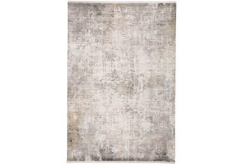 "7'8""x11' Rug-Cameron Light Grey/Ivory"