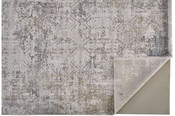"3'1""x5' Rug-Cameron Light Grey/Ivory"