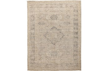 90X114 Rug-Faded Traditional Sand