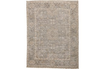 90X114 Rug-Faded Traditional Grey