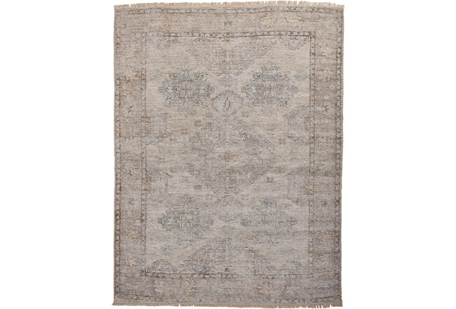 90X114 Rug-Faded Traditional Stone - 360