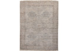 108X144 Rug-Faded Traditional Stone